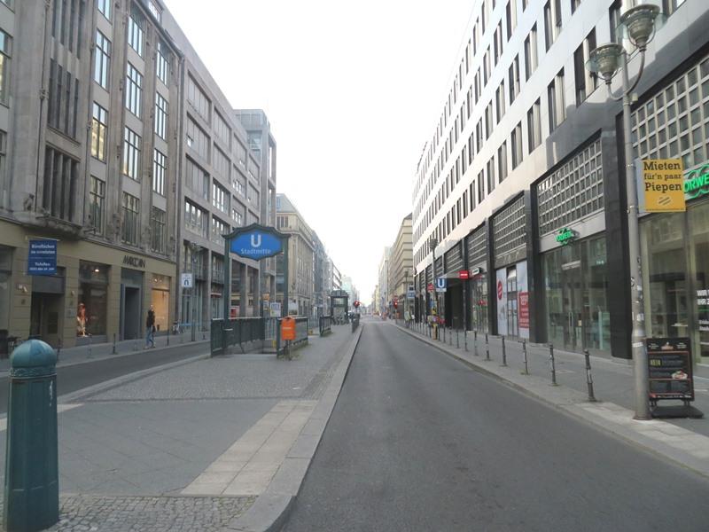 Umgebung Hotel NH Berlin Mitte