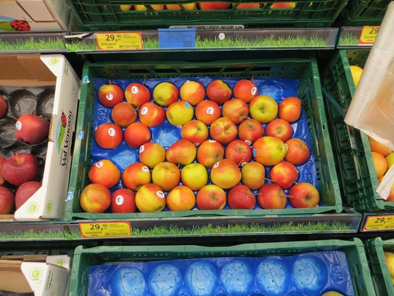 Preise in Tschechien für Äpfel - Vagamundo 361°