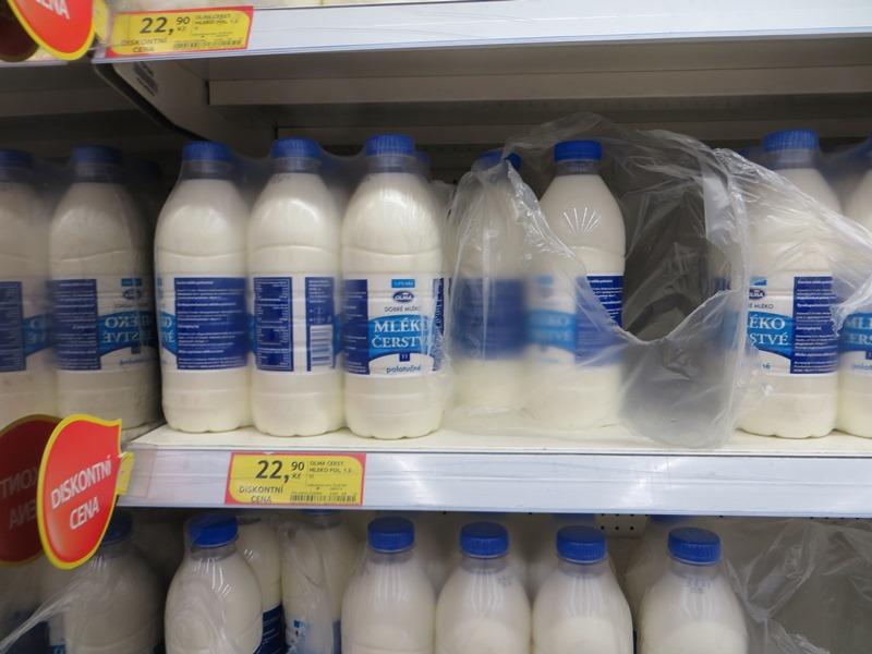 Preise in Tschechien für Milch - Vagamundo 361°