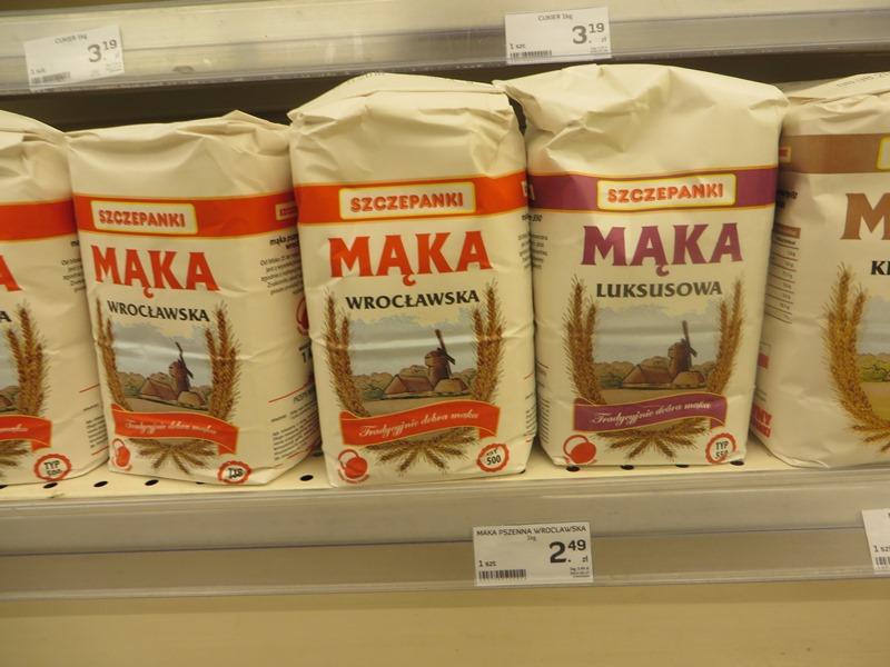 Preise in Polen für Mehl - Vagamundo 361°