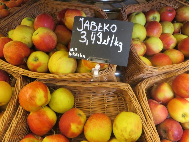 Preise in Polen für Äpfel - Vagamundo 361°