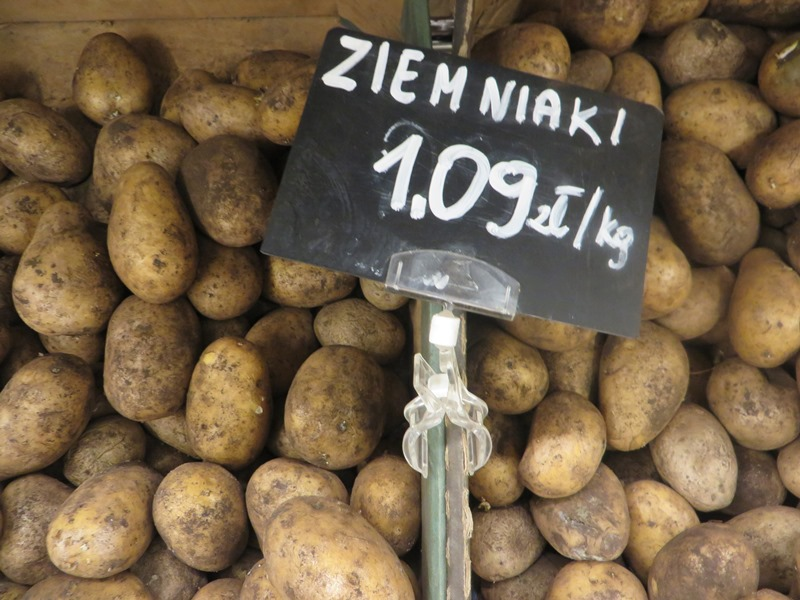 Preise für Kartoffeln in Polen - Vagamundo 361°