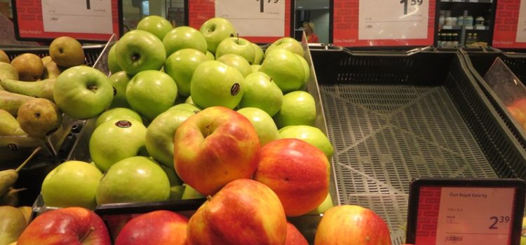 Preise in Estland für Äpfel - Vagamundo 361°