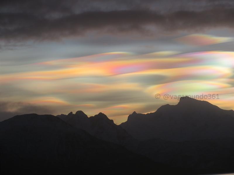 perlmuttwolken in nord norwegen