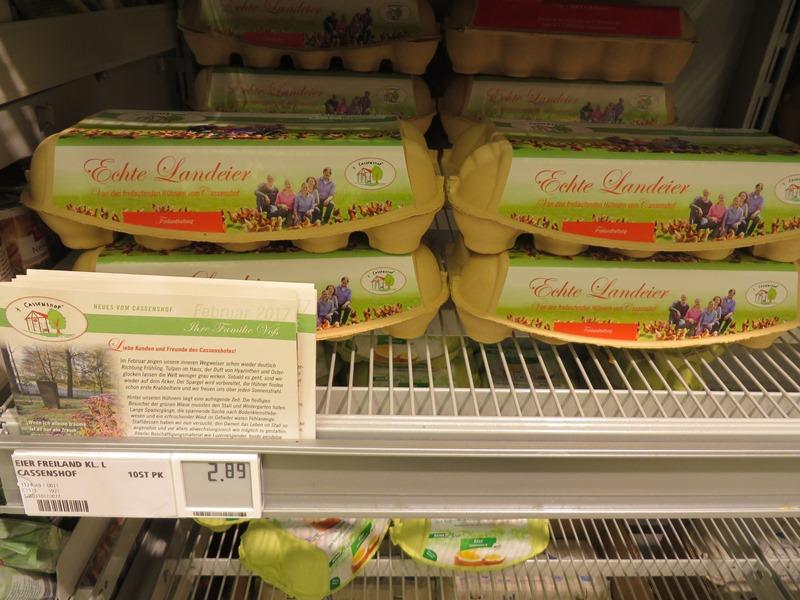 Preise in Deutschland für Eier - Vagamundo 361°