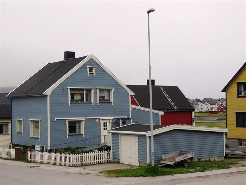 Blaues Haus in Vardø