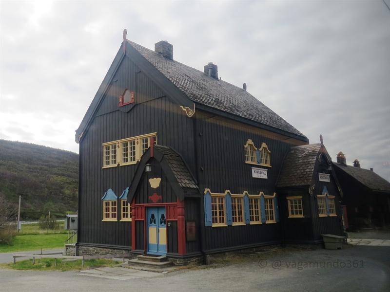 Haus entlang der Dovrebanen