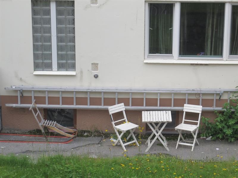 Tisch und Stühle in Hammerfest