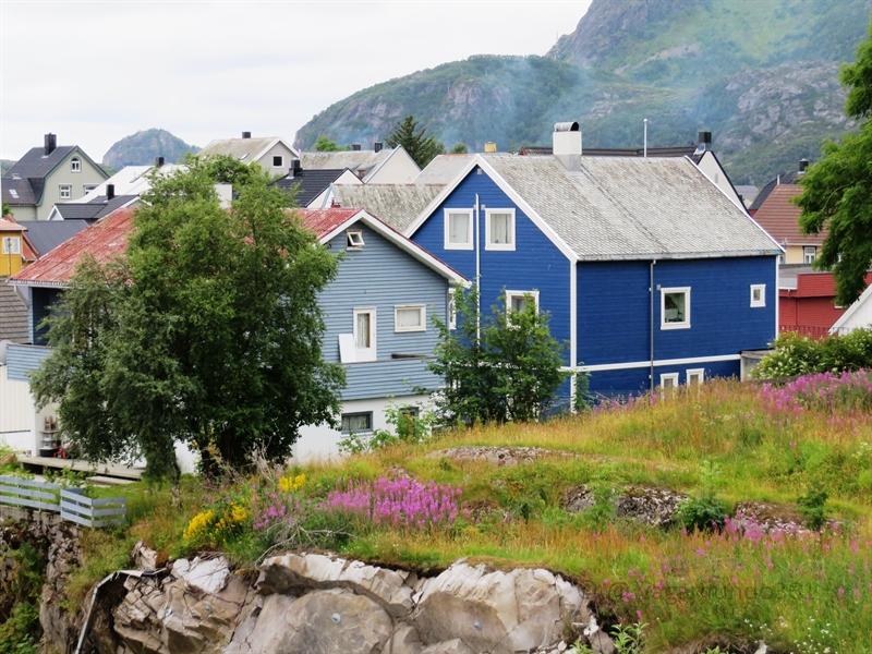 Häuser in Svolvær