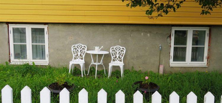 Gartenstühle in Norwegen - Vagamundo 361°
