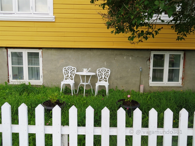 Gartenstühle in Norwegen