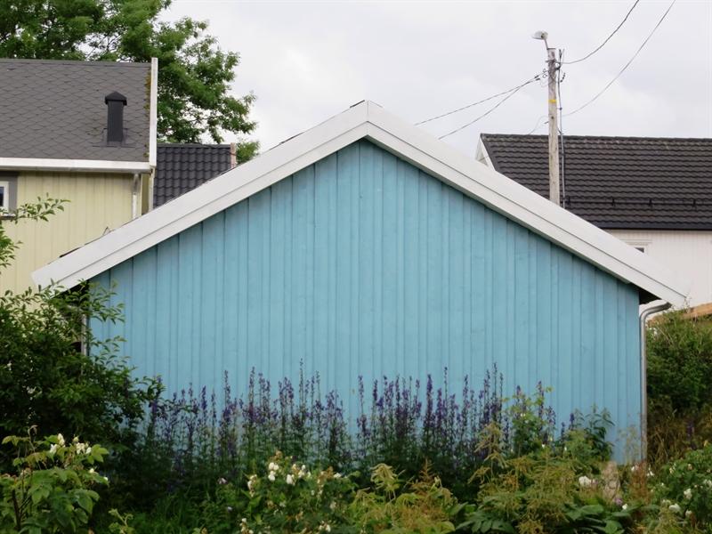 Holzhaus in Brønnøysund
