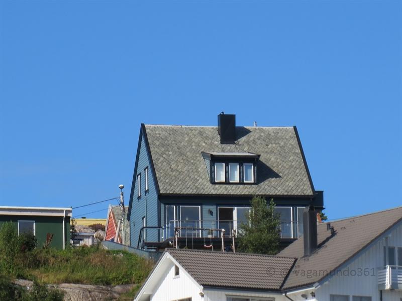 Holzhaus in Kristiansund