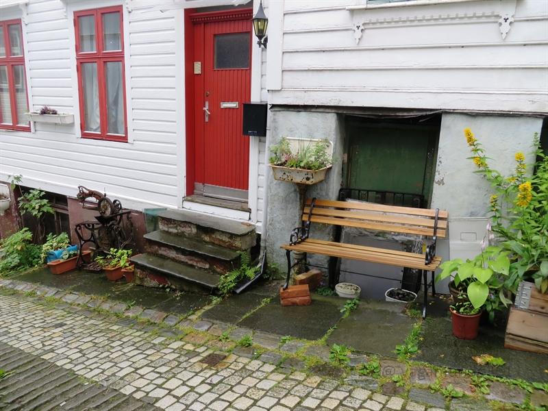 Sitzbank in Bergen